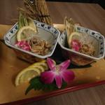 ichidori - 鶏皮のポン酢和え