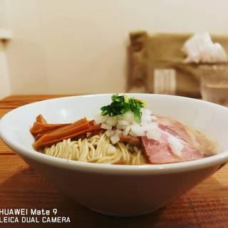 The Noodles & Saloon Kiriya - 料理写真:Niboshi_Soba白醤油柚子入り