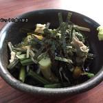 玉乃屋 - つまみ山菜 350円