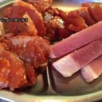 味仙荘 - 豚肉中心の肉