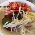 味仙荘 - ナムルとキムチ