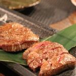 あぶり肉 がらん - タン(2280円)