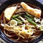 八福庵 - 山菜蕎麦