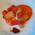 シャンブル・アヴェク・ヴュ - マコガレイのトマトソース