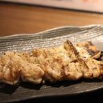 あぶり肉 がらん - がらんのシロ串(1本200円)