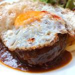 ビブバール - ハンバーグステーキセット