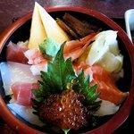 寿司酒家 七福食堂 - 七福食堂 @横須賀市長坂 七福ちらし丼