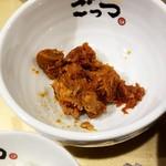 超ごってり麺ごっつ - 辛バクダン:100円