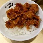 超ごってり麺ごっつ - 辛バクダン on 半ライス