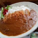 こぐま楽気店 - 料理写真:カツカレーの700円が一番高いんです!。