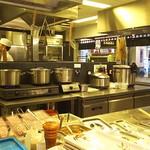 75849391 - 1710_丸亀製麺 Mall Artha Gading_店内(厨房)
