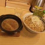 渡辺製麺 つけ麺 暁 - つけ麺(中)太麺800円