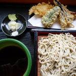 喜作 - 天ぷらせいろ蕎麦