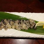板前ごはん 音音 - サロマ湖産生牡蠣