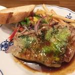 洋食屋 - ポークリブステーキパセリの香り