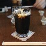 ミカド珈琲店 - アイスコーヒー