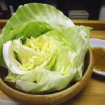 立呑み 龍馬 - 「塩ダレキャベツ」180円也。