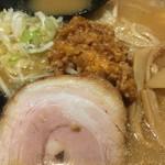 75853204 - 叉焼と肉味噌