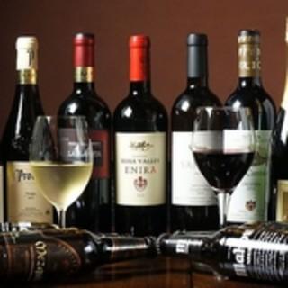 お酒の種類も豊富にご用意しております!