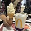マクドナルド - 料理写真:2017/11 ソフトツイスト 100円とマクドナルドの公式アプリ McDonald's Japanのクーポンで、プレミアムローストコーヒー(M) 150円→100円