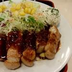松屋 - 厚きりのお肉