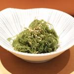 鮨 いし黒 - ☆海藻