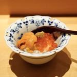 鮨 いし黒 - ☆雲丹、イクラ丼
