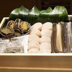 にい留 - 天麩羅の食材