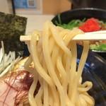 ゴル麺。 - つけ麺の麺