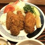 平安食堂 - 牡蠣フライ定食
