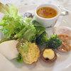 ROCCO - 料理写真:ランチの一口スープ、前菜、サラダ