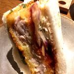 旨唐揚げと居酒メシ ミライザカ - サンドイッチ