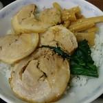 横浜とんとん - ちゃーしゅー丼430円