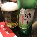 DIN TAI FUNG - ドリンク写真:青島で乾杯