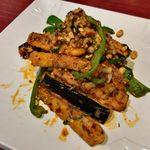 陳家私菜 - 「茄子のズーラン炒め」