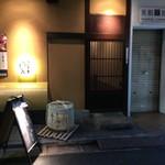 目黒川魚金 - 入り口