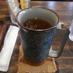 カフェ ファイミール - 今日は、アイスティーに。モーニングで500円税込