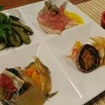 たわら寿 - 料理写真:前菜