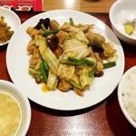 大衆酒場 北海 - 日替り定食:500円