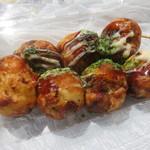 お好み焼 たち花 - たこ焼き