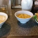 75868309 - ごはんとスープ、サラダバー