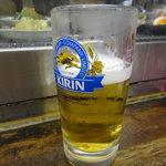 いこい - 2011年4月23日再訪 生ビール