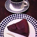 トクミツコーヒー - 円山ビターとガトーショコラ