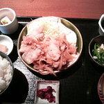 7587580 - ランチ 生姜焼き定食