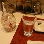 名代串揚げ 松葉 - 日本酒であります。
