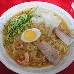 呉龍 - 冷麺ワンタン(レーワン)