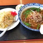豊源 - 麺飯セット 700円外