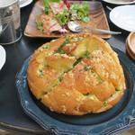 BLUE POINT - Garlic Cheese Bread!!