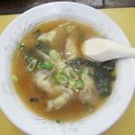 本店 鉄なべ - スープ餃子:540円