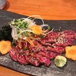 一品料理 ひとしな - 仙台牛のタタキ
